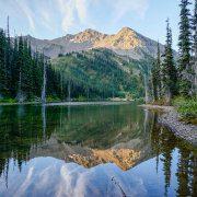 Morning Lake Reflections