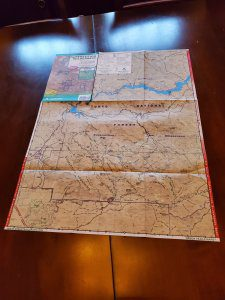 Green Trail Maps - Superstition Wilderness 1