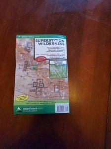 Green Trail Maps - Superstition Wilderness 2