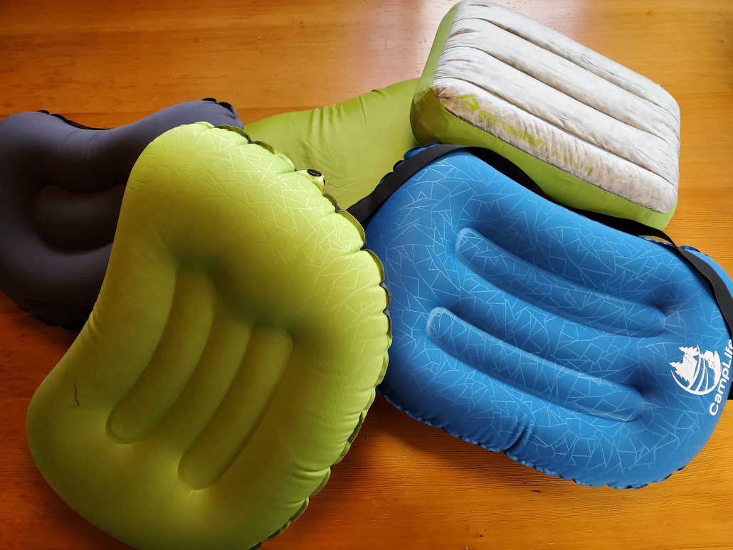 Ultralight Backpacking Pillow Collection