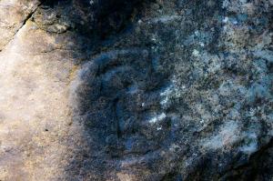 Ozettetrianglepetroglyph#23