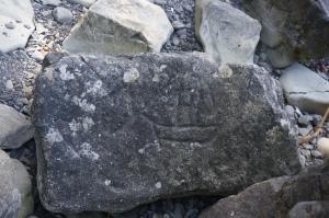 Ozettetrianglepetroglyph#24