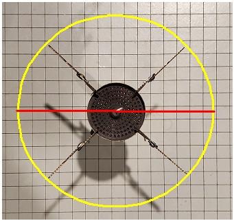 Soto Four Arm Diameter