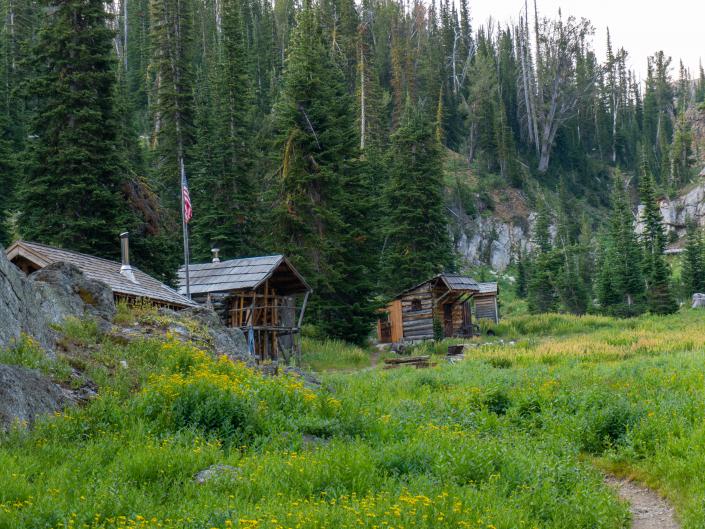 Aneroid Lake Cabin